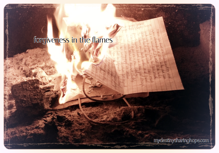 Forgiveness in the Flames