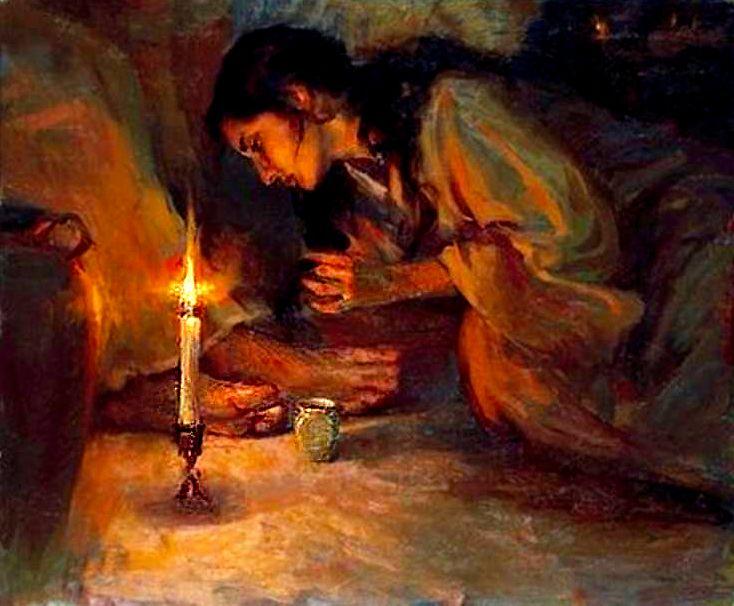 anointingHisfeet